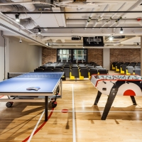Games area (table tennis & table football)